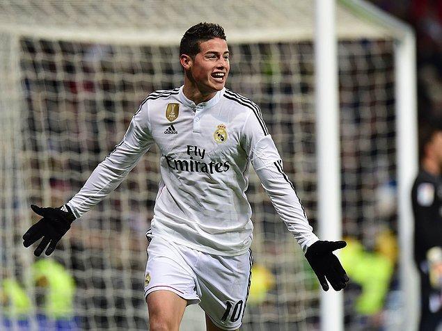 8. James Rodriguez | Monaco ➡️ Real Madrid