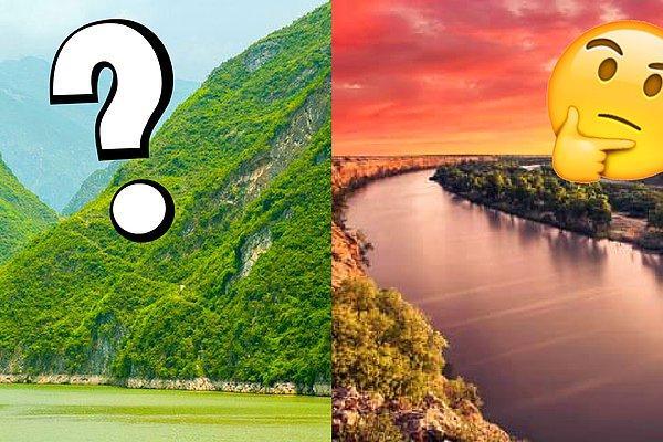 Сможете ли вы без ошибок пройти этот тест на знание мировых рек?
