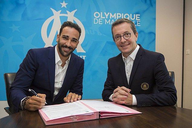 49. Adil Rami ➡️  Olympique Marsilya