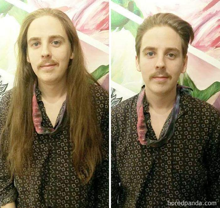 Смена имиджа мужчины до и после фото