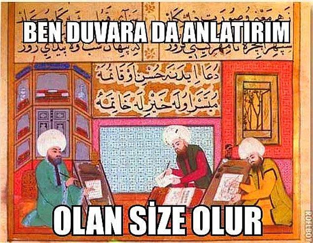 10. Tarih ile devam edelim o zaman. Bu Osmanlı padişahlarından hangisi baba oğuldur?