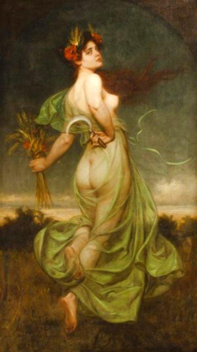 13. Jennifer Lopez - İsimsiz Franz Doubek eseri, 1865