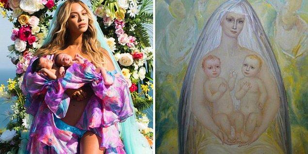 """1. Beyoncé'nin ikizleri - """"İkizlerle Madonna"""" Alexey Kuzmich, 1997"""