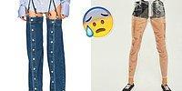 Джинсовая мода, полегче: 15 странных и нелепых дизайнерских решений