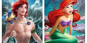 Художница из Канады показала, как выглядели бы герои знаменитых мультфильмов, будь они другого пола