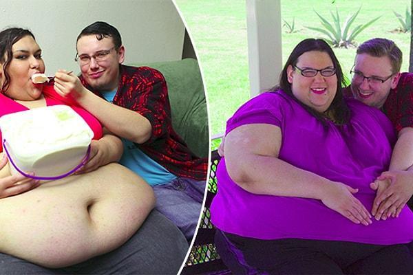 Женщина весом в 318 кг похудела на 91 кг, чтобы выносить ребенка
