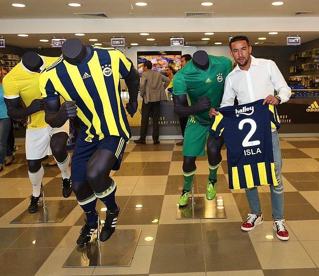 27. Mauricio Isla ➡️ Fenerbahçe