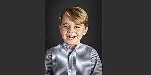 К 4-му дню рождения принца Джорджа был выпущен его официальный портрет