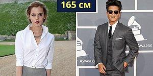 25 пар знаменитостей, у которых одинаковый рост: просто поразительно!