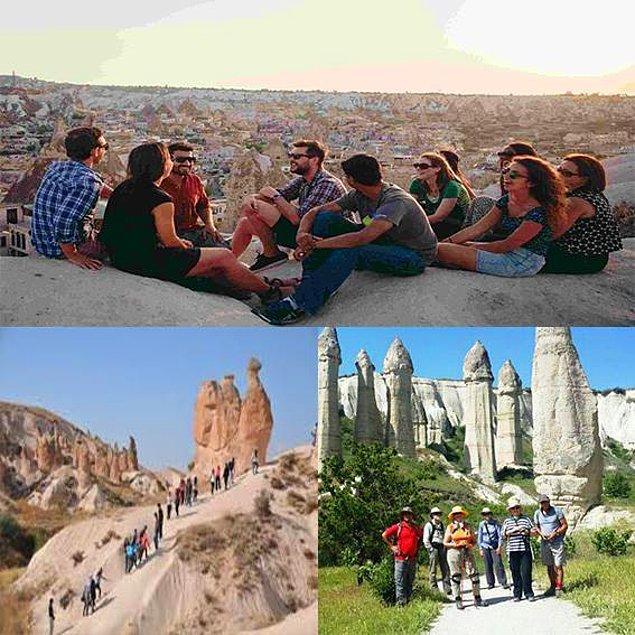 33. Milyonlarca Yıllık Oluşumu ile Dünyanın ve Ülkemizin Olağanüstü Doğa Harikası Kapadokya'da Yaşayan Öğrencilerden Olun