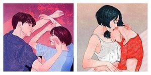 Южнокорейский художник настолько чувственно изобразил любовь, что увидев его работы, вы сами сможете ее почувствовать