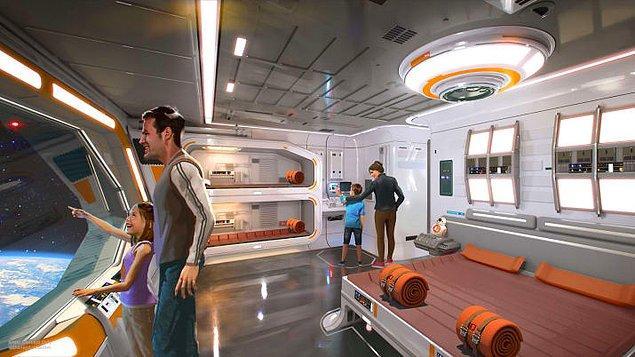 Bu hafta sonu gerçekleşen D23 Expo sırasında, Walt Disney World Resort'ta açılacak olan tam kapsamlı Star Wars temalı otelin planları açıklandı.