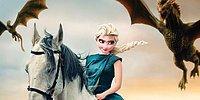 """Художник показал, как выглядели бы девушки Диснея, сыграй они в """"Игре престолов"""""""
