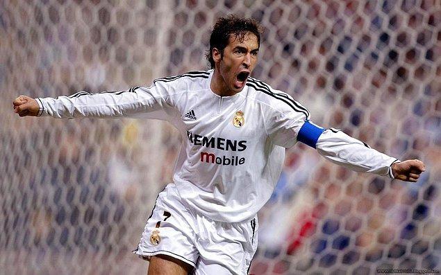 16. Raul Gonzalez - 140 milyon Euro