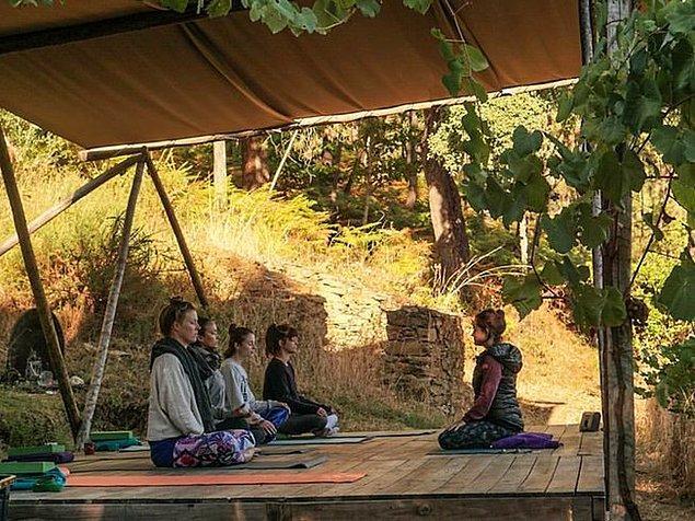 9. Oleiros'ta Yoga Tatili, Portekiz