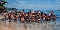 Буйство меланина: Университетский женский клуб чернокожих девушек устроил фотосессию в тропиках