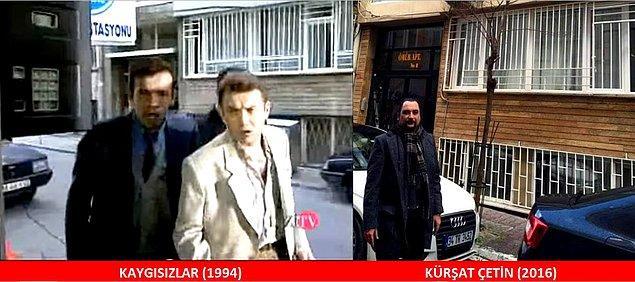 """5. KAYGISIZLAR (1994) Memnun su istasyonunda ARMUUUUT diye bağırırken karşısına Kültigin ve Çetesi çıkar: """"OOOPS. BİZE Bİ ŞEY Mİ DEMEK İSTEDİN?"""""""