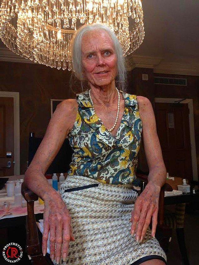 11. Heidi Klum'ın Cadılar Bayramı kostümleri ve tabii ki makyajı