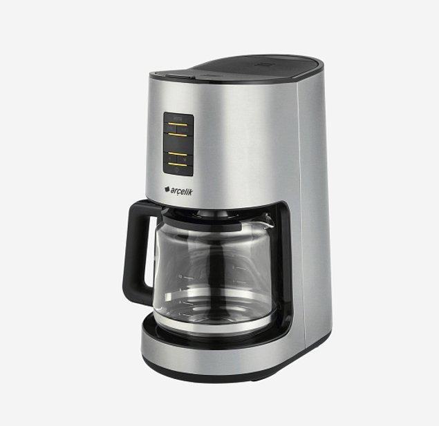 9. En lezzetli aromaların buluştuğu filtre kahveleri evinizde içmenizi sağlayacak kahve makinesi