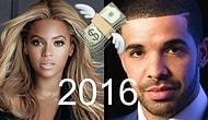 Сможете ли вы угадать, кто из музыкантов заработал больше в 2016?