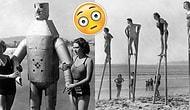 """18 странных винтажных пляжных фото, которые заставят вас сказать: """"Что ЭТО?"""""""