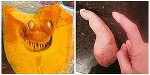 17 фото овощей и фруктов, которые, кажется, вышли из логова дьявола