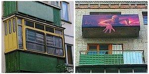Балкон как вид народного фольклора? 23 забавных фото балконов в России