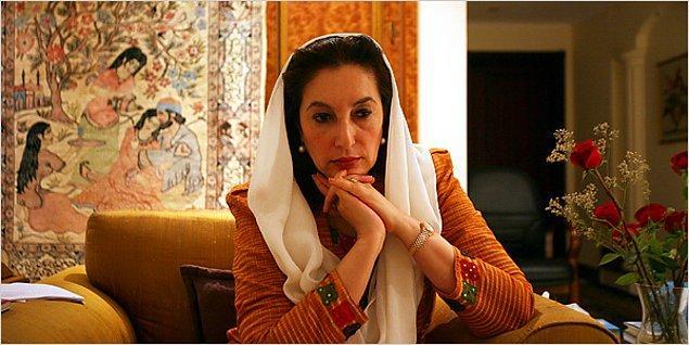 14. Benazir Bhutto