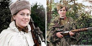 Хрупкая сила: 10 портретов советских женщин-снайперов Второй мировой