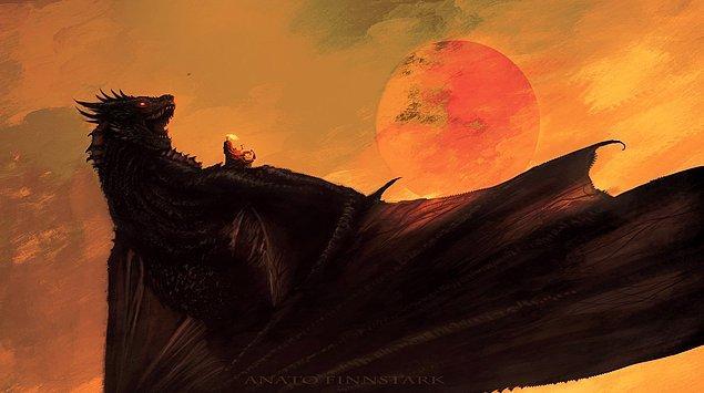 11. Kuşun kanadındaki asalet. Mother of Dragon!