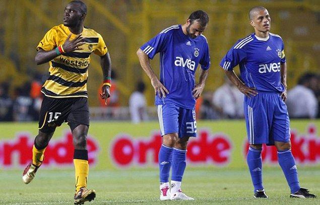 8. 2010-11 sezonu UEFA Şampiyonlar Ligi 3. Ön Eleme Turu'nda Fenerbahçe, Young Boys takımına elenmişti.