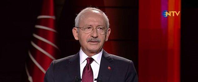 """CHP lideri, Oğuz Haksever'in """"Aday olacak mısınız?"""" sorusunu ise şöyle yanıtladı:"""
