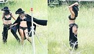 """Ангелы Victoria's Secret для фотосессии примерили ковбойские чапсы без """"попы"""""""