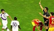 Hakem Fırat Aydınus, Kendisine Küfür Eden Futbolcuyu Oyundan Attı