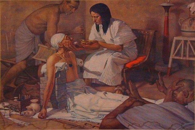 5. Eski Mısır'da kullanılan diş ağrıları için ölü fare