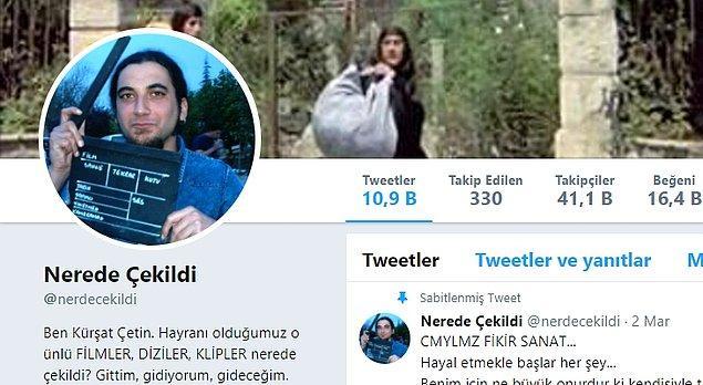 1. Nerede Çekildi: Kürşat Çetin isimli sinemasever, Türk dizi ve filmlerinin çekildiği mekanları birbir keşfediyor ve önce-sonra karşılaştırması yapıyor.