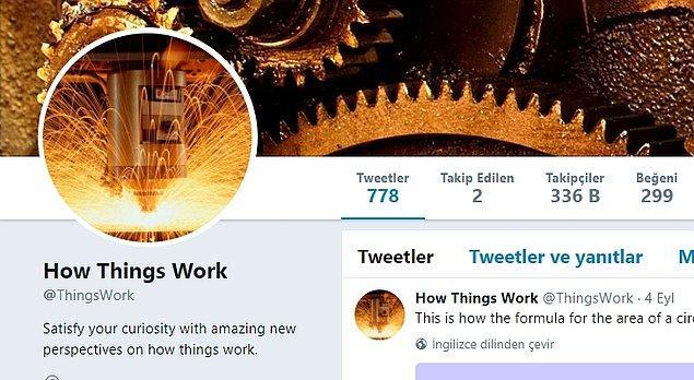 8. How Things Work: Paylaşımlarında aklınıza gelebilecek her konu hakkında ilginç görüntülere yer veren hesap.