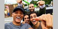 В Сети появились первое совместное фото каста «Аладдина»