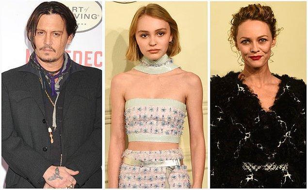 Lily-Rose, Hollywood'un efsanevi aktörlerinden Johnny Depp ve yıllarca Chanel yüzü olmuş efsane model ve müzisyen Vanessa Paradis'in ilk çocuğu.