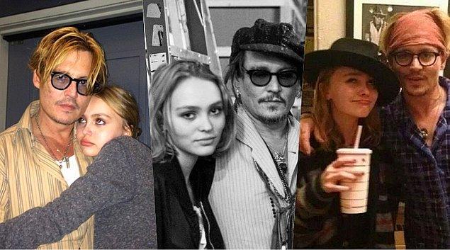 Lily-Rose ve Johnny Depp'in oldukça sevgi dolu bir baba-kız ilişkisi olduğu uzun süredir medyanın gündeminde. Birbirlerinden asla desteklerini eksik etmiyorlar.