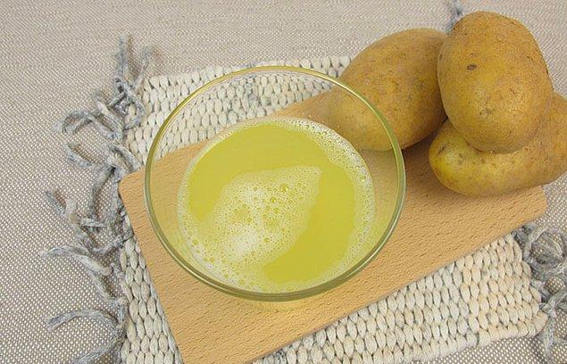 6. Patates suyu