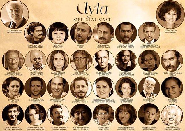 13. Türkiye'nin Oscar adayı Ayla, 42. Toronto Uluslararası Film Festivali'nde gösterildi ve ayakta alkışlandı.