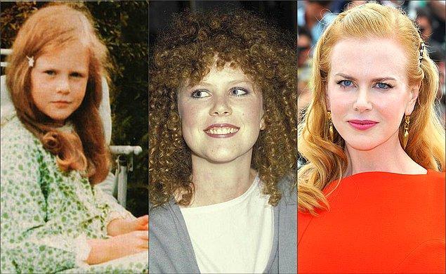 2. Nicole Kidman 10 yaşında drama okuluna giderken, 14 yaşında ise okulla beraber oyunculuğu yürütmeye başlamış.