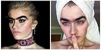 Эта модель бросает вызов стереотипам красоты, не выщипывая свою монобровь