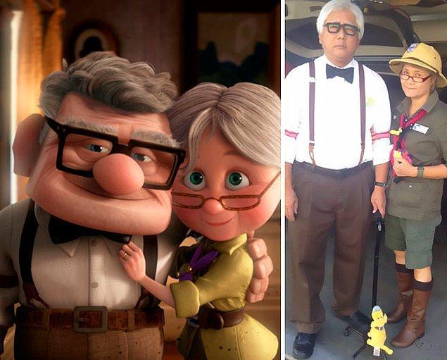 3. Up'tan Carl ve Ellie