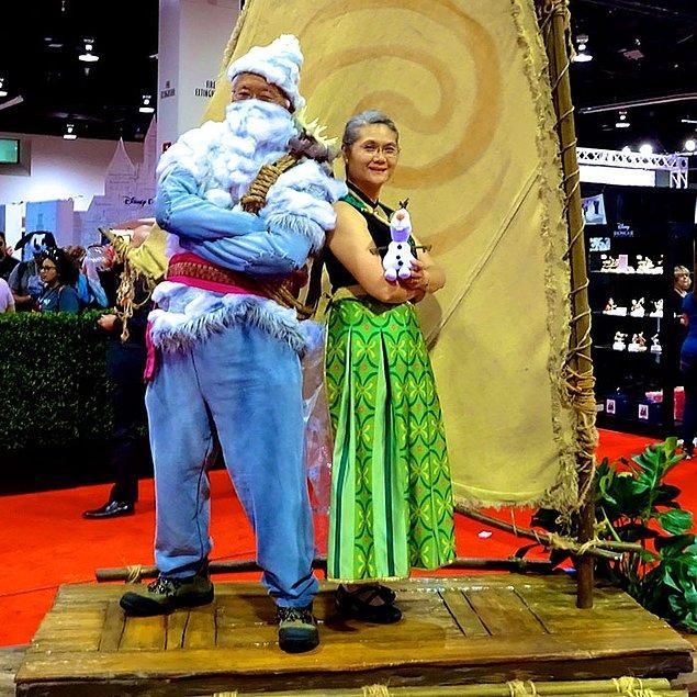 8. Frozen'dan Anna ve Kristoff