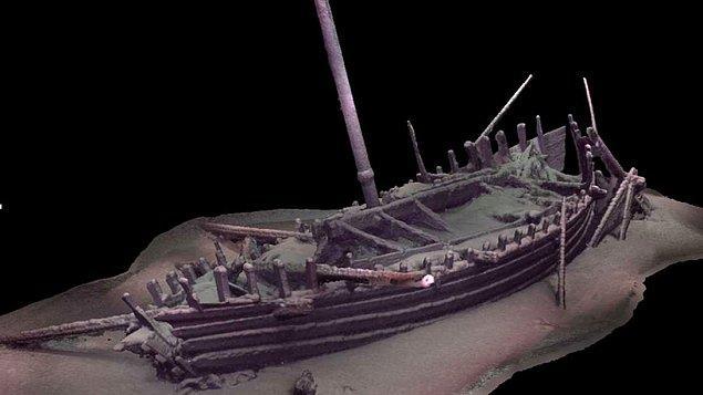 """3 yıllık bir proje olan """"Black Sea MAP"""", Southampton Üniversitesi'nin Deniz Arkeolojisi Merkezi tarafından yürütülüyor ve EEF tarafından finanse ediliyor."""