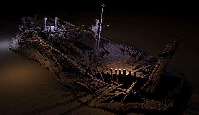 Araştırma ekibi, gemilerin konumunu güvenlik sebebiyle sır olarak saklıyor.