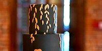 Черные торты - новейший свадебный тренд! А вы бы осмелились?
