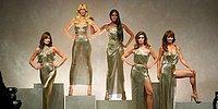 Эпическое воссоединение супермоделей 90-х на показе Versace